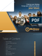 Brochure of McGraw High School for the Year 2012