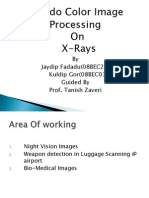 Presentation on Pseudo Color Image Processing on X-ray images, Medical images, NV images