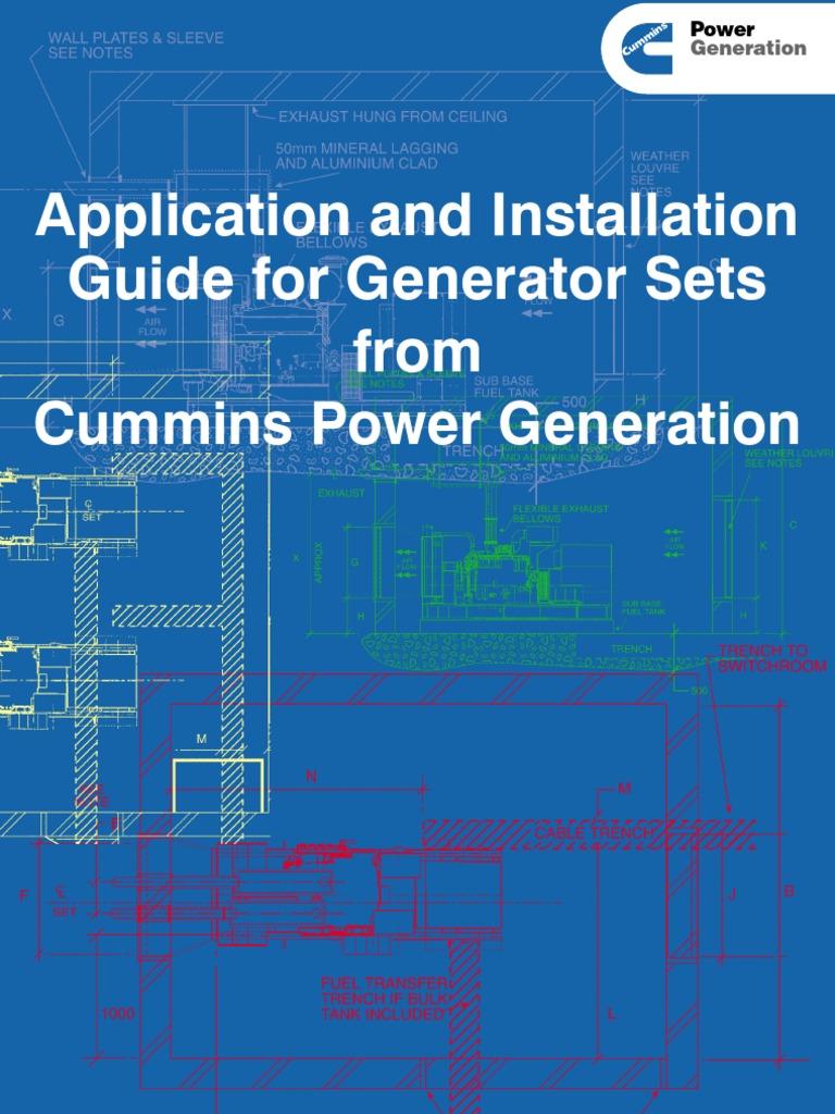 Installation for Generator Set | Horsepower | Electrical Wiring