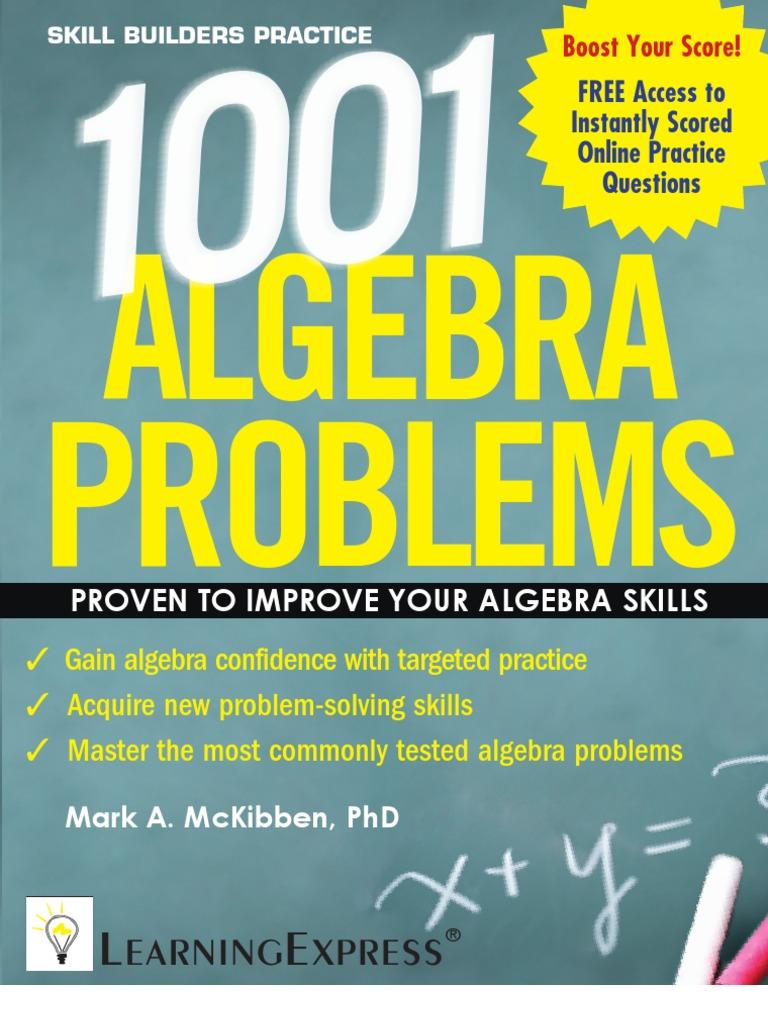 1001 Algebra Problems | Line (Geometry) | Equations