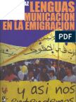 Y así nos entendemos ; Lenguas y comunicación en la emigración