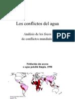 Los conflictos del agua