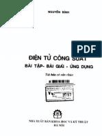 Dien Tu Cong Suat(Bai Tap Bai Giai)- Nguyen Binh