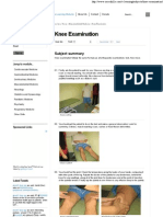 Knee Examination _ OSCE Skills