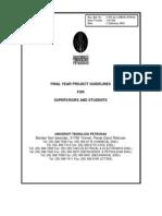 Fyp Guidelines 2012 Master