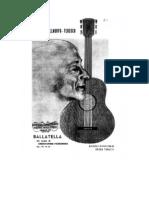 Ballatella Op.170 Nº 32 Castelnuovo-Tedesco