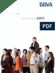 Bbva Anual Report 2007 Ang