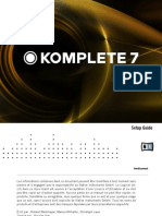 Komplete 7 Setup Guide French