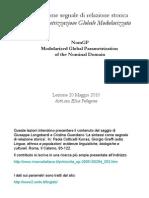 Pellegrino La Sintassi Come Segnale Di Relazione Storica (p2)