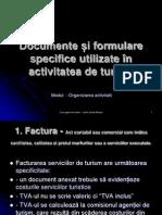 Documente și formulare specifice utilizate în activitatea de