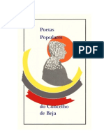 Poetas Populares CBeja + Separata Albernoa - 2012 - 294p