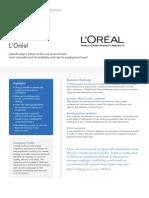 Loreal Case Study V5