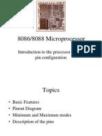 Microprocessor 8086 Architecture