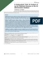 Publication Bias in Antipsychotic Trials