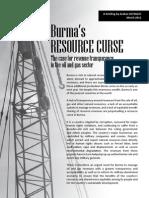 Burmas Resource Curse- case for revenue transparency-arakan oilwatch- en