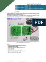 AS5045 Adapter Board Operation Manual RevA02