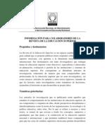 ANUIES_lineamientos para colaboradores de La Revista de Educacion Superior
