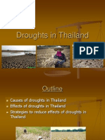 Droughts in Thailand Presentation