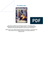 The Uddhav Gita