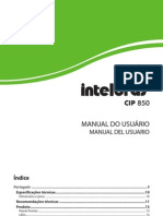Manual CIP 850 Bilingue