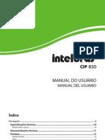 Manual CIP 850 Bilingue