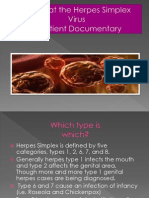 Herpes Simplex Virus Project