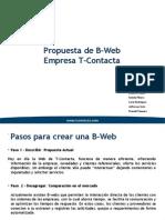 Presentación B-Web
