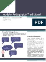 Modelo Pedagógico Tradicional