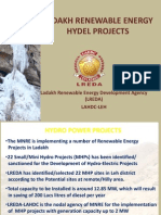 Hydro Projects Ladakh