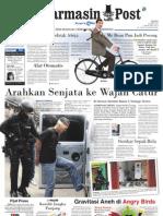 Banjarmasin Post edisi cetak Sabtu 24 Maret 2012