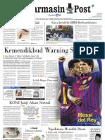 Banjarmasin Post edisi cetak Kamis 22 Maret 2012