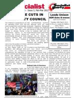 SP Leeds City Council Bulletin 3 (Feb-Mar 2012)