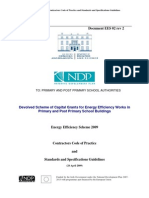 EES 02 Contractors Code of Practice and Standards and Specification Guidleines Rev 2