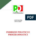 Indirizzi Politici e Programmatici