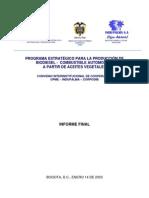 PROCESO DE REFINACIÓN DEL ACEITE CON LOS PRODUCTOS OBTENIDOS
