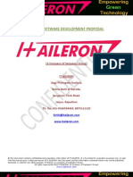 IT Aileron IT & Web Proposal