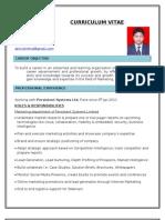 CV Abhishek Nagar Marketing Analyst