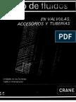 Flujo de Fluidos en Valvula, Accesorios y Tuberias