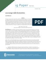 Williamson - Regímenes cambiarios