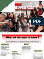 Action Adventure Genre