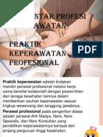 PRAKTIK KEPERAWATAN PROFESIONAL