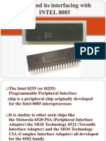 i8255 and Its Interfacing With INTEL 8085(MT Assignment)