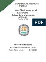 Proyecto Cultura de La Información