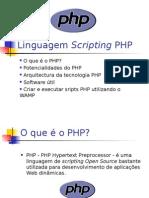 Linguagem Scripting PHP 1
