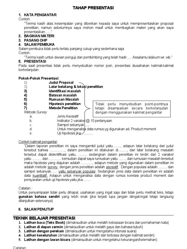 26376327 Tahap Presentasi Proposal