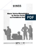 Matriz Teórico-Metodológica do Serviço Social na Previdência Social