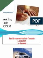 Contract de Donatie
