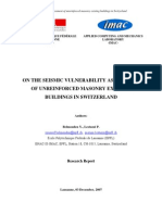 2007_Technical Report_Belmouden_Lestuzzi_On the Seismic Vulnerability Assessment of URM Buildings_modeling Okok