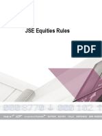 1. JSE Equities Rules