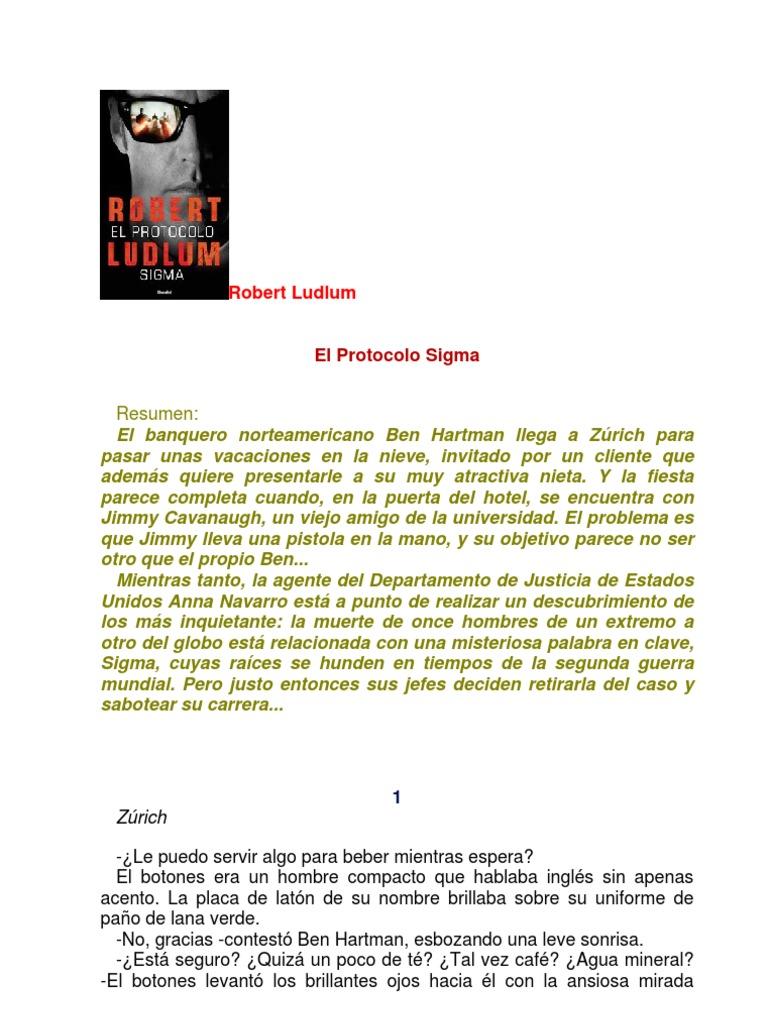 Robert Robert Ludlum Sigma Ludlum El Protocolo 7gb6yfYv